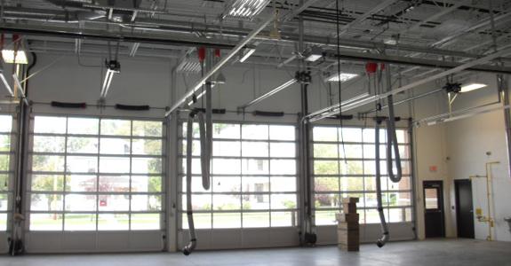 Some commercial garage doors